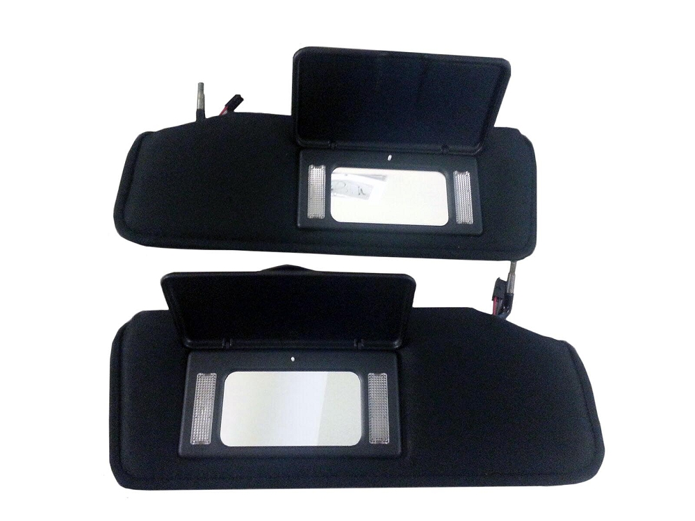 C4 Corvette 1984 1996 Sun Visor Replacements W Lighted