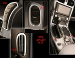 C6 Corvette 2005-2013 Stainless Steel 9-Piece Interior Dash Trim Kit