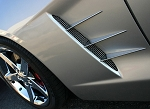 C6 Corvette 2005-2013 Billet Chrome Side Spears