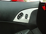 C6 Corvette 2005-2013 Stainless Steel Door Lock Trim