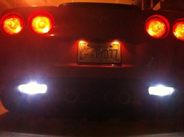 C6 Corvette 2005 2013 Reverse Smd Led Replacement Bulbs