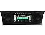 C3 Corvette 1968-1982 Custom AutoSound USA-230 AM/FM with Aux-In Stereo