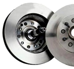 C2 C3 Corvette 1965-1982 Rear Brake Rotors & Spindles