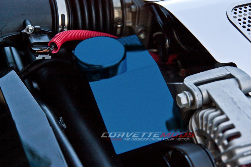 C6 Corvette 2008-2013 Custom Painted Power Steering Pump Cover