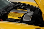 C6 Corvette Base/Grand Sport 2008-2013 Custom Painted Perforated Fuel Rail Covers Replacement Style w/ Cap