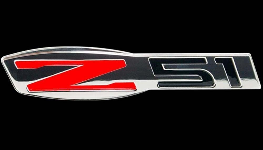 C7 Corvette 2014-2019 Stingray Billet Chrome Z51 Badge