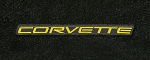 C5 Corvette 1997-2004 Lloyds Ultimat Floor Mats - Corvette Script
