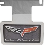 C6 Corvette 2005-2013 Carbon Fiber Exhaust Enhancer Plate - Not for NPP Exhaust