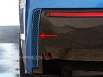 C7 Corvette Stingray 2014-2019 Custom Painted Rear Valance Vent Grilles - Pair