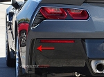 C7 Corvette Stingray 2014-2019 Custom Painted Rear Valance Vent Grilles - Matrix Series
