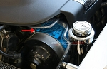 C6 Corvette ZR1 2009-2012 Custom Painted Perforated Power Steering Cover