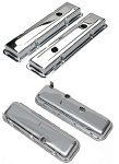 C3 Corvette 1968-1982 Chrome Valve Covers - Big/Small Block