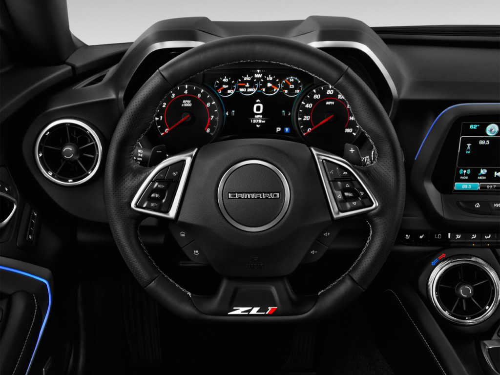 Red Ford Fusion 2010 >> Gen 6 Camaro 2016+ ZL1 Steering Wheel Decal - Multiple Options