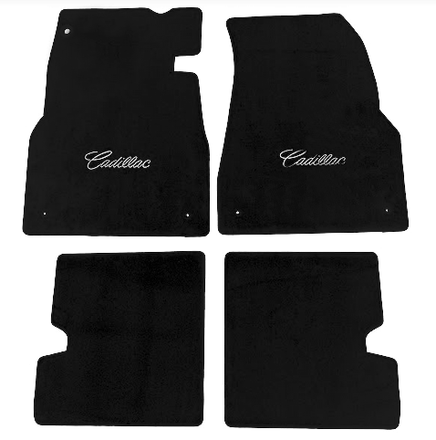 2003 2007 Cadillac Cts Cutpile Floor Mats With Signature
