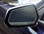 Gen 5 Camaro 2010-2013 Brushed Super Sport Style Side View Mirror Trim - 2pc