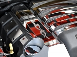 Gen 5 Camaro SS 2010-2015 Fuel Rail Covers w/ Polished Tribal Flame