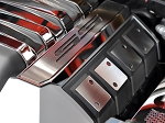 Gen 5 Camaro SS 2010-2015 Fuel Rail Covers Polished Carbon Fiber w/ Factory Shroud