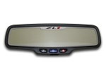 Gen 5 Camaro 2012-2013 Brushed ZL1 Style Rectangle Rear View Mirror Trim