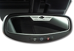 Gen 5 Camaro 2010-2012 Brushed Super Sport Style Oval Rear View Mirror Trim