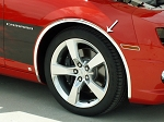 Gen 5 Camaro 2010-2013 Wheel Well Molding Kit Chrome 1 Inch - 4pc