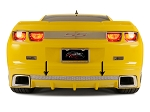 Gen 5 Camaro 2010-2013 Perforated Rear Valance - Fits the GM RS Ground Effects