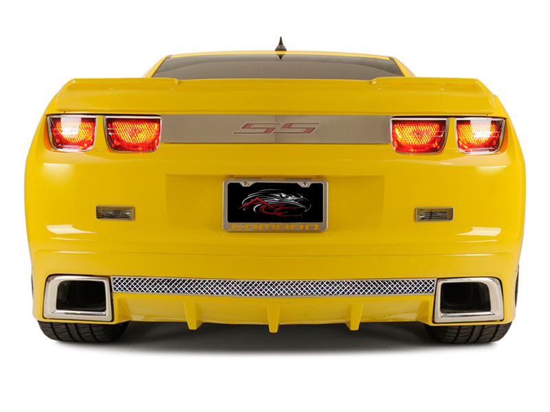 Gen 5 Camaro 2010-2013 Laser Mesh Rear Valance - Fits the GM RS Ground Effects
