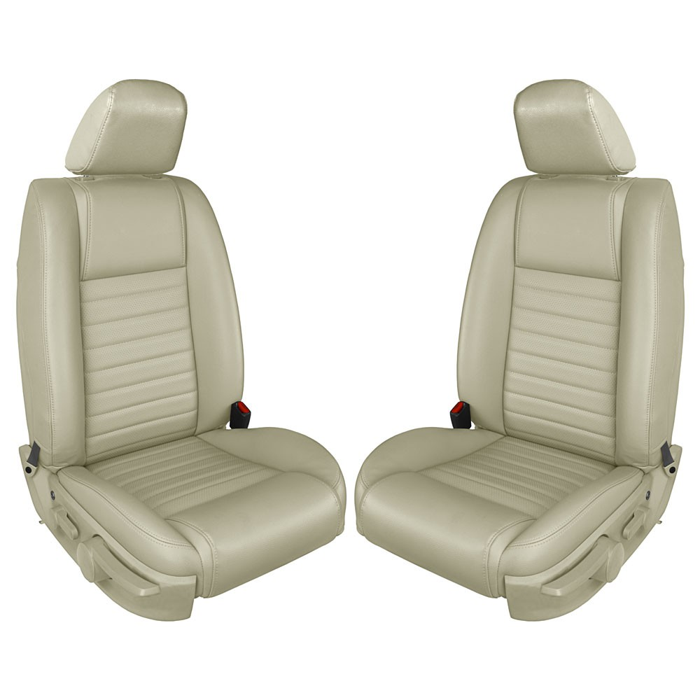 2005 2007 Ford Mustang Gt Leather Front Bucket Seat Upholstery W O