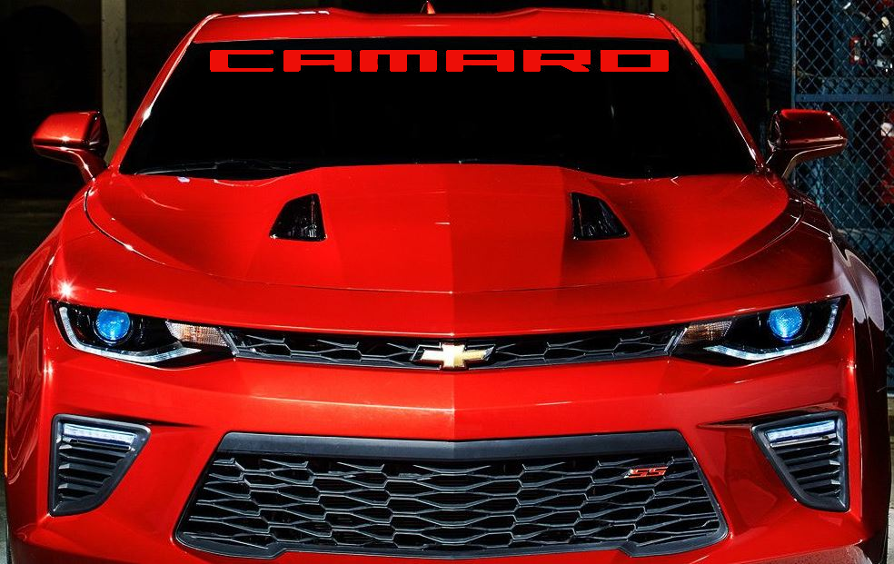 Gen 5 Gen 6 Camaro 2010 Windshield Decals Customization