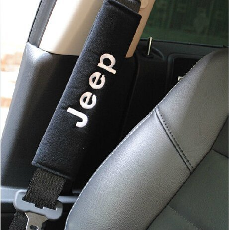 Jeep Seat Belt Cover Shoulder Pads