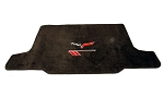 C6 Corvette 2005-2013 Lloyds Velourtex Cargo Mat Grand Sport Logo & Crossed Flags