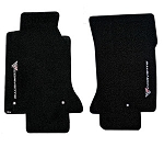 C5 Corvette 1997-2004 Lloyd Floor Mats Sideways Logo Velourtex Series