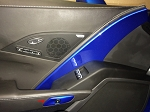 C7 Corvette Stingray/Z06/Grand Sport 2014-2019 Custom Painted Drivers Door Button Bezel