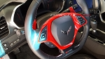 C7 Corvette Stingray/Z06/Grand Sport 2014-2019 Custom Painted Steering Wheel Trim Bezel