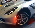 C7 Corvette Stingray/Z06/Grand Sport 2014-2019 SMD LED Side Markers - Clear/Smoked