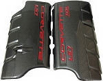 C6 Corvette 2006-2013 LS7 Hydro Carbon Fiber Fuel Rail Covers