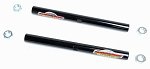 C2 C3 Corvette 1963-1982 Global West Suspension Tubular Tie Rod Adjusting Sleeves - Pair