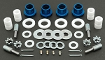 C2 C3 Corvette 1963-1981 Global West Del-A-Lum Control Arm Bushing Kit - Upper/Lower