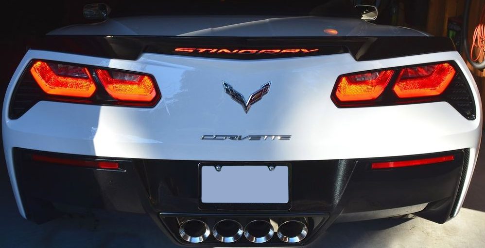C7 Corvette Stingray Z06 Grand Sport 2014 Third Brake