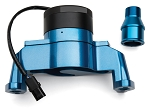 C3 Corvette 1968-1982 Proform Small Block Electric Water Pump - Blue Aluminum