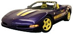 C5 Corvette 1998 Pace Car Decal Kits - Yellow/White