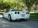C6 Corvette 2005-2013 Custom Painted Rear Diffuser Valance