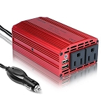 300W Power Inverter DC 12V to AC 110V Converter w/ USB Car Charger