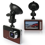 Full HD 1080P Slim Car DVR Dash Cam - 170 Degree Angle - Microphone