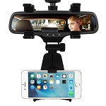 Smart Phone Adjustable Rearview Mirror Mount