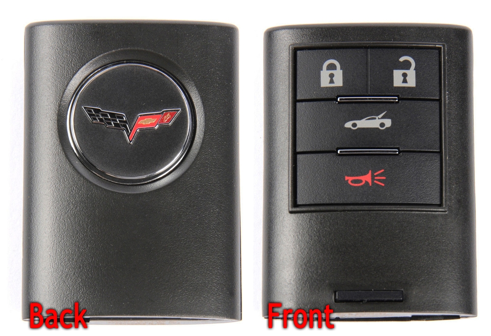 Key Fob Replacement >> C6 Corvette 2005-2013 Keyless Entry Remote Key Fobs | Modern Gen Auto