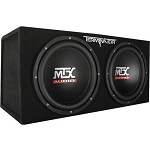 1200 Watt Dual 12 Inch Subs - With Enclosure - Optional Amplifier