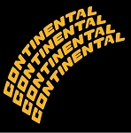 Continental Tire Stickers - Full Kits