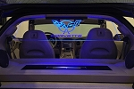 C5 Corvette 1998-2004 Coupe Laser-Etched & Illuminated WindRestrictor - Upper Glow Plate