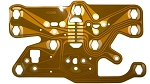 C3 Corvette 1977-1982 Flexible Center Gauge Circuit Board Upgrade -Thicker Copper