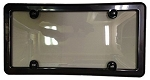 Autocross License Plate Frame w/ Weather Seal - Black